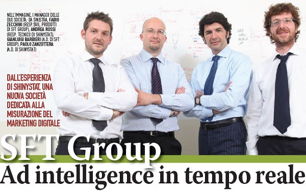 SFT Group - AD Intelligence in tempo reale - Intervista a Gianluigi Barbieri tratta da 360com n. 14