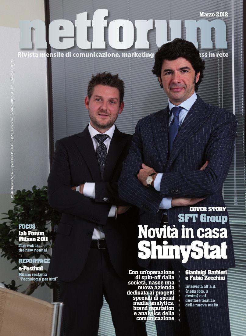 SFT Group - Novità in casa ShinyStat da Netforum Marzo 2012