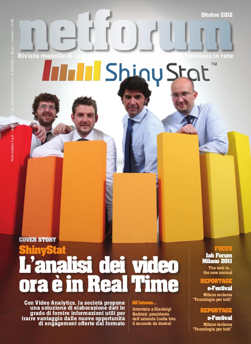 Netforum Ottobre 2012 - La Cover Story ShinyStat
