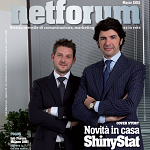 SFT Group, Novità in casa ShinyStat - Intervista a Gianluigi Barbieri, Cover Story su Netforum di Marzo2012