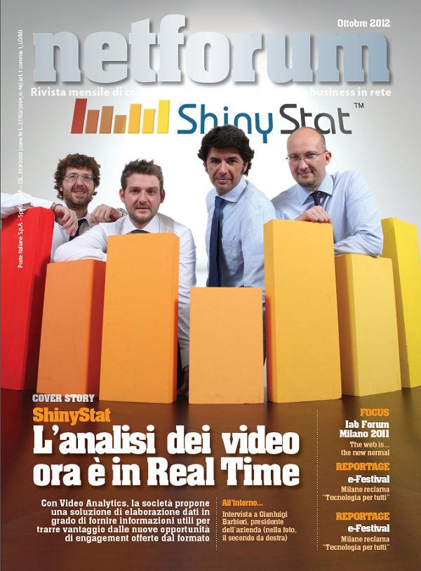 Intervista a Gianluigi Barbieri, Presidente di ShinyStat - Copertina Netforum Ottobre 2012