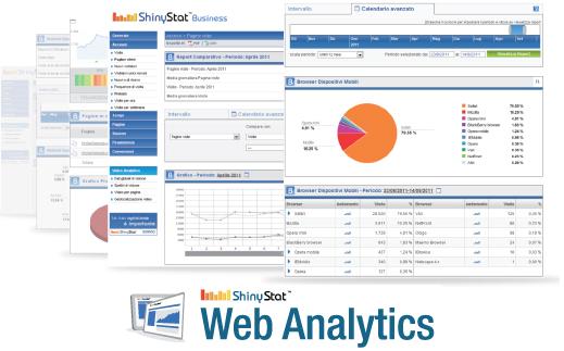 ShinyStat Web Analytics - Report sempre disponibili in tempo reale